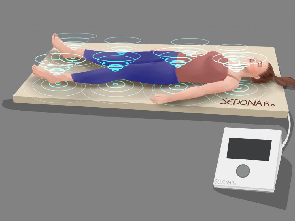 Sedona Wellness PEMF mat illustration
